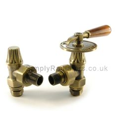 Pairs of Abbey Old English Brass Throttle Manual Radiator Valves for Antique Victorian Cast Iron Radiators Online and for sale in our Shop. Home Radiators, Column Radiators, Cast Iron Radiators, Traditional Radiators, Radiator Valves, Designer Radiator, Thing 1, Architectural Antiques, Old English