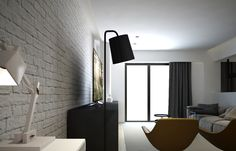Interior design, apartment in Athens, GR | Zar | iidsk | Interior Design & Construction Interior Design, Mirror, House, Furniture, Home Decor, Nest Design, Decoration Home, Home Interior Design, Home