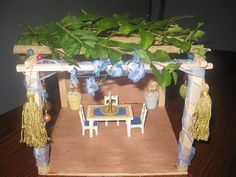 """Sukkot,  a welcoming Tabernacle.  Shadow of the """"Invitation of our Messiah Who saved us"""".   All are welcome. Whosoever calls upon His Name."""