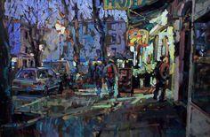 Gange Nocturne by Arthur Maderson
