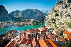 Omis, Croatia: drove thru this city on the way to Dubrovnik, want to go back and explore. So pretty.