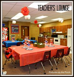 teacher appreciation week 2013 ideas | Potlucks on the Porch: Teacher Appreciation Week: All- Star Teachers