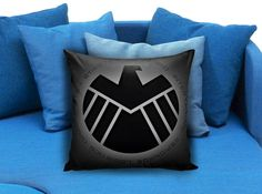 Agent SHIELD Marvel  These soft pillowcase made of 50% cotton, 50% polyester.  It would be perfect to decorate your home by using our super soft pillow cases on sofa, chair, bench or bed.  Customizable pillow case is both comfortable and durable, improving the quality of your sleep with these comfortable pillow case, take it home now!  Custom Zippered Pillow Cases available in 7 different size (16″x16″, 18″x18″, 20″x20″, 16″x24″, 20″x26″, 20″x30″, 20″x36″)