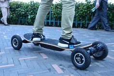 4 Four Wheels Electric Skateboard Dual Motor 1650W 2 Max 11000mAh Electric  Scooters Longboard Hoverboard b43bb5136ab