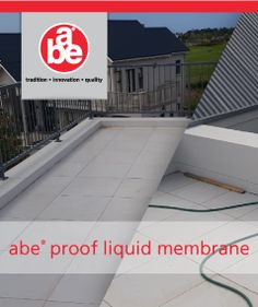 abe® proof liquid membrane House Schoombee in Kingswood Golf Estate – George Waterproofing a flat concrete roof. General Construction, Golf Estate, Cool Store, Wood Oil, High Humidity, Pressure Washing, Wire Brushes, Health And Safety, Concrete