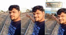 Jovem Queria Tirar Selfie Quando o Comboio Se Aproximava Mas Calculou Mal a Distância