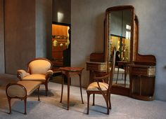 hector guimard art nouveau | Art Nouveau furniture in Mrs. Guimard's bedroom | Flickr - Photo ...