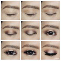 Halo Smoky Eyes   tartelette in bloom clay palette   Kirei Makeup