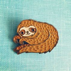 by boygirlparty on instagram: http://ift.tt/1rlAqI8 -- You guys... it's here... the SLOTH PIN!
