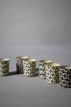 For Julie's Chanel Room: Printed Lumière Votives - eclectic - candles and candle holders - BHLDN