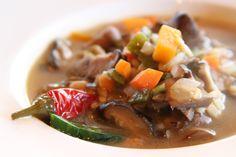 ginger coconut vegetable soup | soup | Pinterest | Vegetable Soups ...