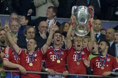 FOOTBALL -  Ligue des champions: le Bayern Munich roi d'Allemagne et d'Europe - http://lefootball.fr/ligue-des-champions-le-bayern-munich-roi-dallemagne-et-deurope/