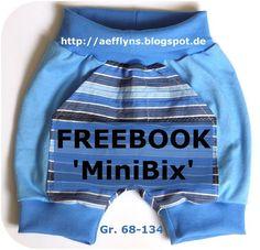 """Mamahoch2: Freebooktratsch #30: aefflyns mit der Stoffmixhose """"MiniBix"""""""