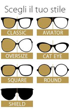 Scegli il tuo stile!!! Occhiali online by www.lotticaonline.it