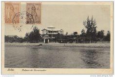 LOBITO Palacio do Governador Timbres Stamps Sellos