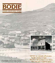 """Bodie, the outlaws would say """"Goodbye Lord, I'm goin to Bodie! Bodie California, Real Ghosts, California History, Ghost Hunters, Yellow Brick Road, Historical Landmarks, Ghost Towns, State Parks, Places Ive Been"""
