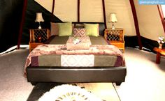 Luxury Tipi Camping in Australia | Glamping in NSW