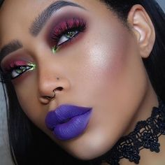 We're hoping @iamcharityleigh will one day share with us her secret for perfection  She's rocking #Sugarpill Mint Soda and #prettypoison Spank
