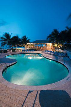 Relax at The Keys! Poolside at The Hammocks at Marathon™ in Marathon, FL #Bluegreen Vacations | Bluegreen Resorts #BluegreenVacations #BluegreenResorts