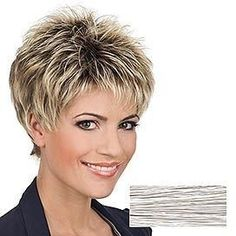 10 short hairstyles for women over 50 # hairstyles # over 50 # short # women new site Pixie Haircut For Round Face hairstyles short site Women Short Grey Hair, Very Short Hair, Short Hair With Layers, Short Hair Over 50, Short Blonde, Haircuts For Fine Hair, Short Hairstyles For Women, Cool Hairstyles, Short Haircuts