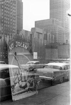 Inge Morath - Rockefeller Center. New York, 1958. S)