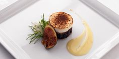 Camembert, fig and onion tart