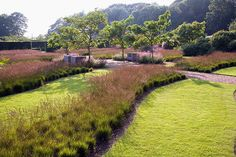 Credit: Andrew Lawson The walled garden at Scampston Hall, Yorkshire, designed by Piet Oudolf.