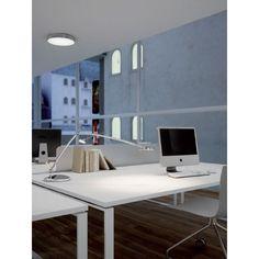 MLN 6338 LEDVALAISIN Office Desk, Corner Desk, Milan, Led, Furniture, Home Decor, Flush Mount Lighting, House Decorations, Interior Lighting