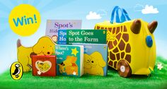 Which little one wouldn't want to win this? A Trunki full of Where's Spot books! Spot Books, Product Launch, Toys, Activity Toys, Clearance Toys, Gaming, Games, Toy, Beanie Boos