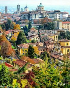 Bergamo, Italy Places Around The World, Travel Around The World, Milan Travel, Italian Lakes, Northern Italy, Roadtrip, Lake Como, Verona, Italy Travel