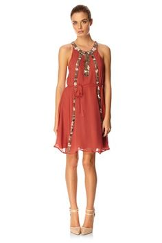Rebecca Beads Dress - Dresses - French Connection