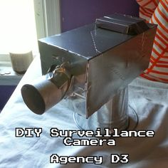 VBS DIY Surveillance Spy Camera to monitor science lab entrance way! Spy Birthday Parties, Spy Party, Birthday Ideas, Secret Agent Party, Wireless Spy Camera, Vbs Themes, Bible School Crafts, Spy Kids, Vbs 2016