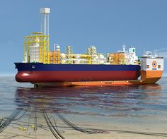 Dockwise Vanguard; innovative vessel design for FPSO dry-docking