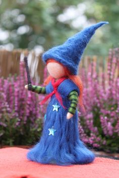 """""""Mia"""" die kleine Zauberin,stehend von Jalda auf DaWanda.com"""