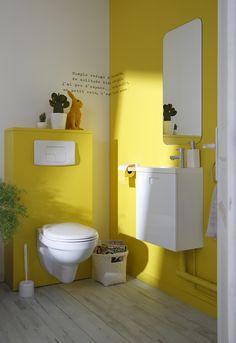Peinture WC : Idées couleur pour des WC top déco | Coins