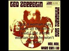 Led Zeppelin- Hey Hey What Can I Do? Lyrics