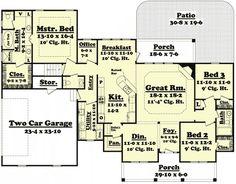 images about House plans on Pinterest   Floor plans  House    Architectural Designs