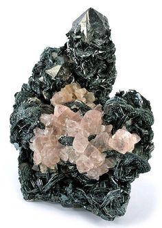 Pink Flourite on Hematite / Mineral Friends <3