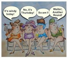 That's what's will happens, After the third round in the Pub !!? ha ha ha Growing old with your best friends :))