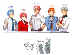You're older??!? by ROSEL-D.deviantart.com on @DeviantArt
