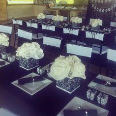 Black and White Lingerie Bridal Shower!
