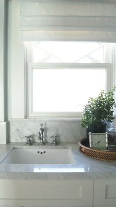 Window, marble, touch of natural elements