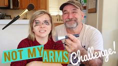 NOT MY ARMS MAKEUP CHALLENGE! 💄 (W/ MY DAD!) // SoCassie