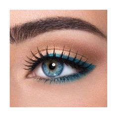 Colored Eye Makeup!! found on Polyvore