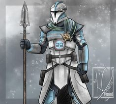 Star Wars Characters Pictures, Star Wars Pictures, Noble Knight, Star Wars Painting, Star Wars Wallpaper, Star Wars Fan Art, Medieval Armor, Fantasy Armor, Star Wars Clone Wars