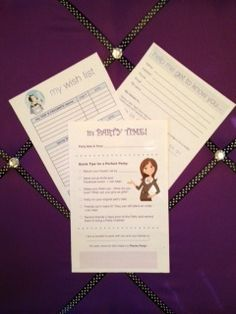 Hostess Brochure, Guest Care Card and Wish List for your Direct Sales Business!  http://thepartyplansecret.com/membership.html