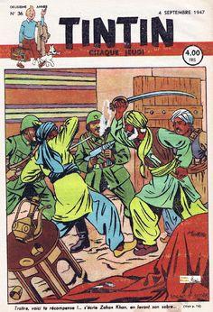 Couverture numéro 36 Belge de 4 Septembre 1947