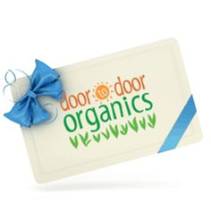 JUST what I need! I HATE grocery shopping. Door to Door Organics delivers local, organic food right to your front door. Added bonus,you can Shop By Recipe and there is no delivery charge. Yes, please!