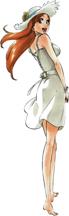 Orihime Inoue | Bleach | That girl Iis sweet. That's why I ship Ichihime. Although I like Ichiruki also