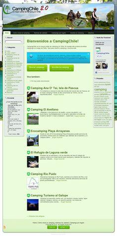 CampingChile es el mayor portal de camping en Chile. En nuestor sitio podras encontrar campings a lo largo de Chile, Tips para crear tu camping y muchos mas >> camping --> www.campingchile.cl